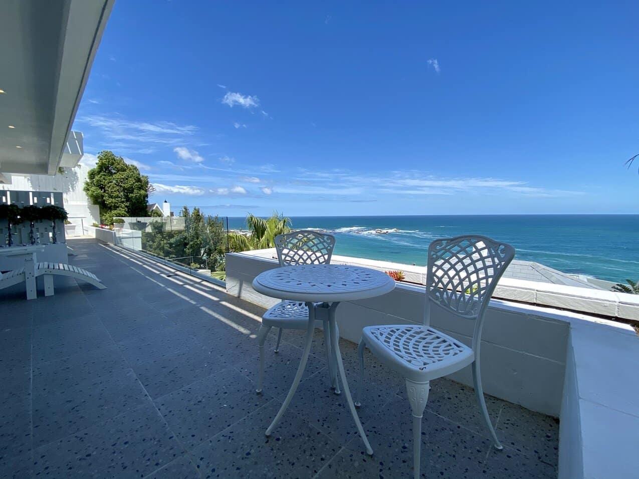 Clifton Mansion Villa Marine Room Balcony