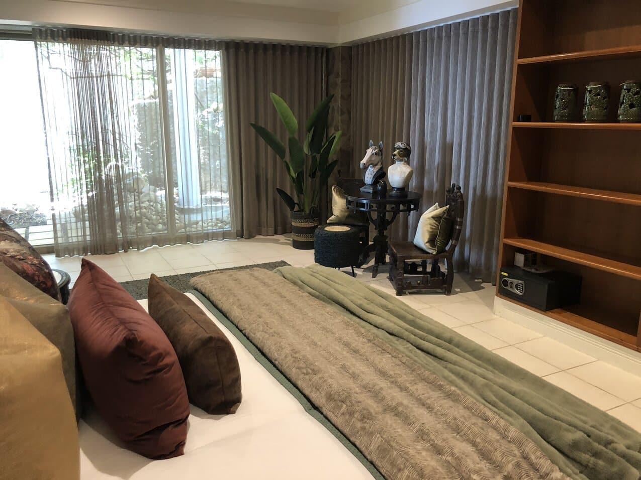 Clifton Mansion Villa Rock Room1